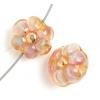 Lamp Bead Petite Fleur 2Pc 12mm Sum Night